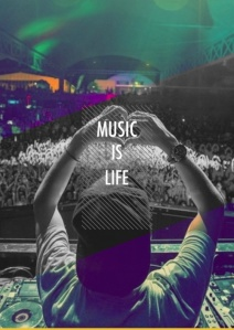 music heals the world