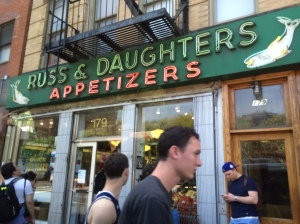 Ross & Daughters Appetizers - not in Brooklyn