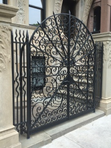 upper west side rod iron gate