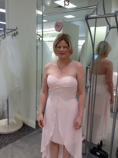 shopping for the dress