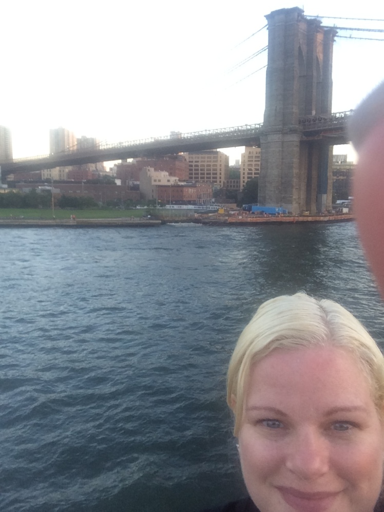 Brooklyn bridge selfie
