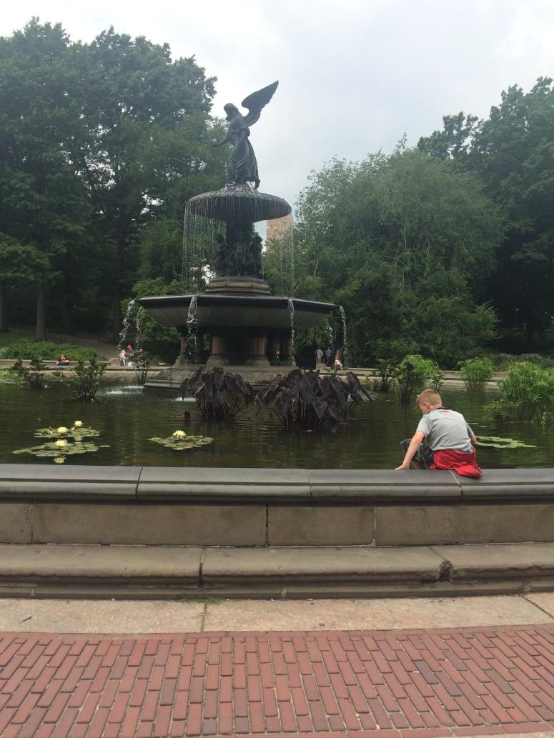 Central Park Friends fountain.JPG