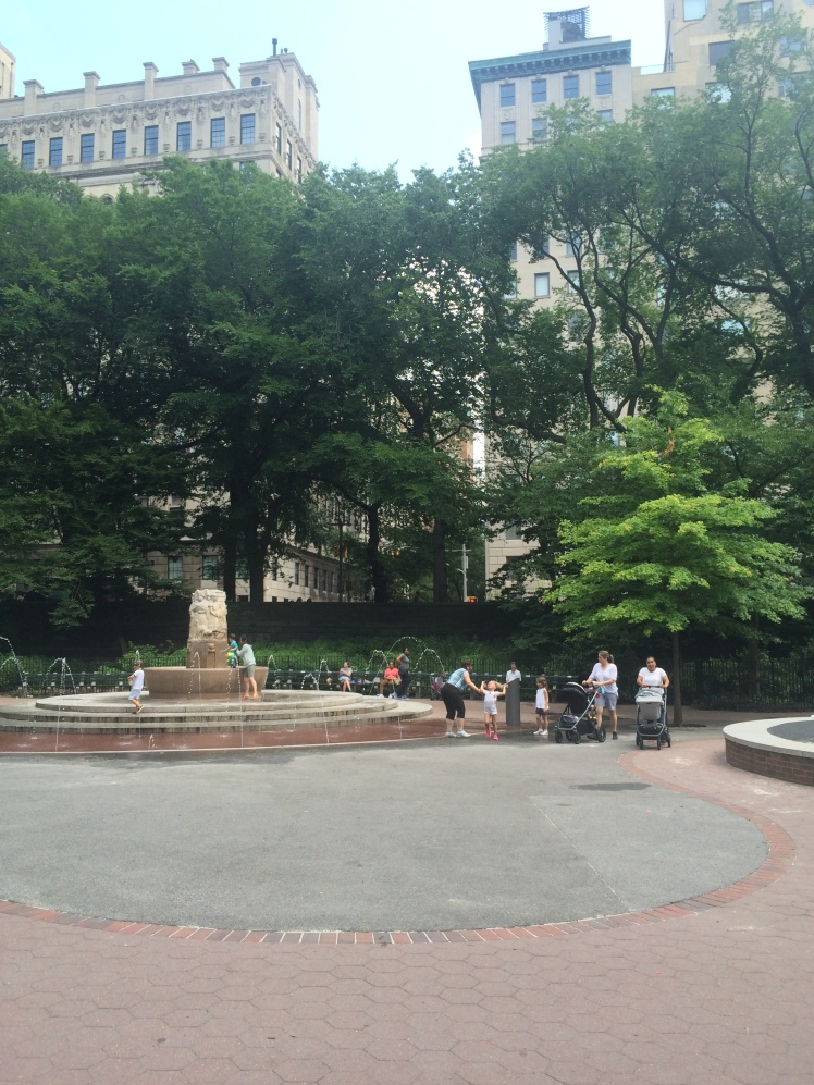 Central park playground aka trust fund bady oasis