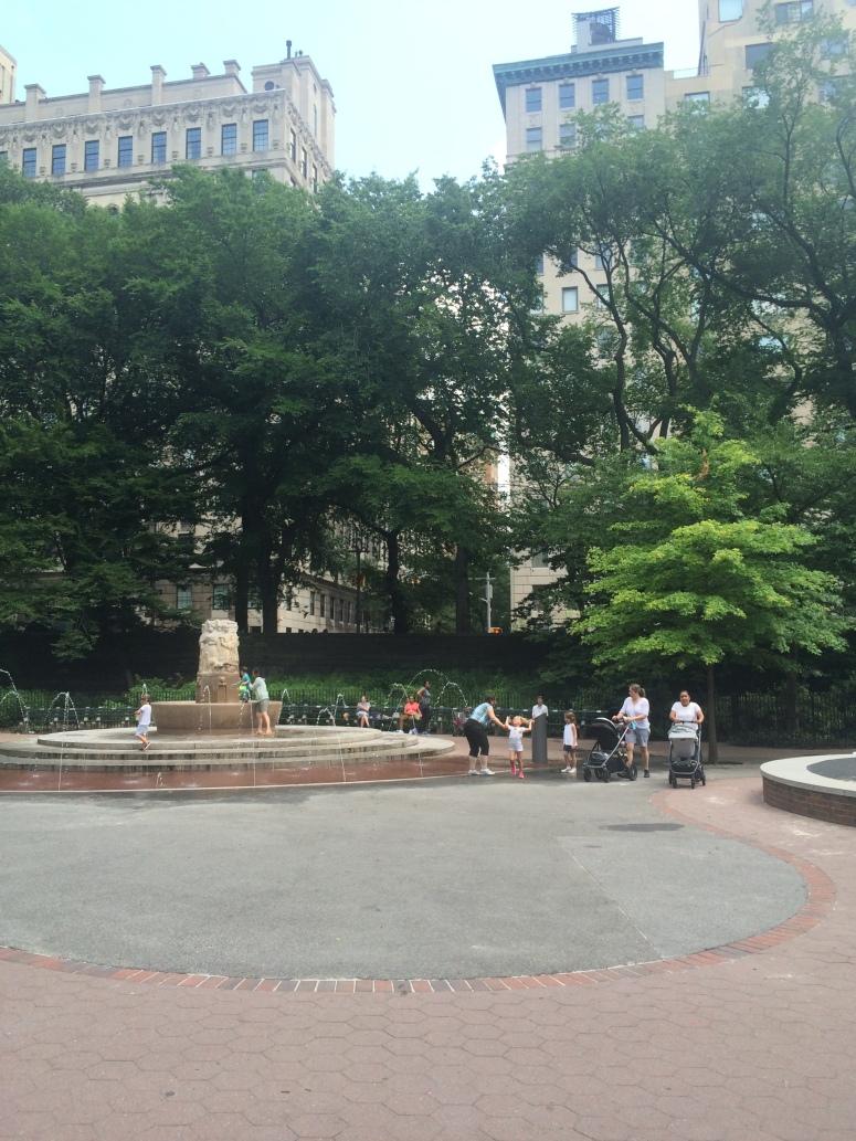 Central park playground aka trust fund bady oasis